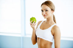 Sport and dieting. Royalty Free Stock Image