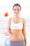 Sport and dieting. Royalty Free Stock Photos