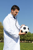 Sport Doctor Stock Photo