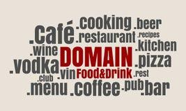 Sport domain names cloud Stock Photography
