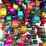 Sport domain names Royalty Free Stock Photo