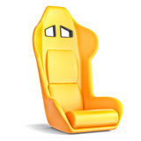 Sport driver leather seat Stock Photography