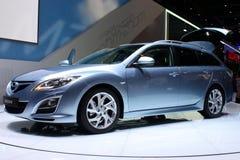 Sport du chariot Mazda6 au Salon de l'Automobile 2010, Genève Images libres de droits