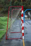 Sport du football du football dans la rue images stock