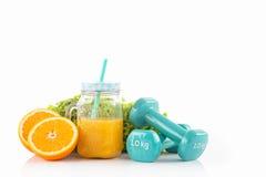 Sport e concetto di dieta Fotografia Stock