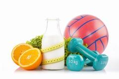 Sport e concetto di dieta Immagine Stock Libera da Diritti