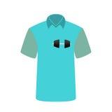 Sport e forma fisica della maglietta dell'uomo Illustrazione di vettore Immagini Stock Libere da Diritti