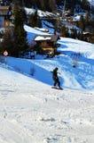 Sport e la Svizzera, alpi svizzere Fotografia Stock