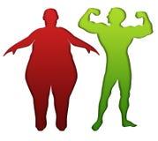 Sport e nutrizione adeguata Fotografia Stock Libera da Diritti