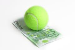 Sport e soldi Immagini Stock