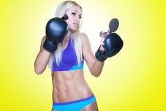 Sport e trucco Fotografie Stock Libere da Diritti