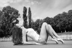 Sport e yoga Fotografia Stock Libera da Diritti
