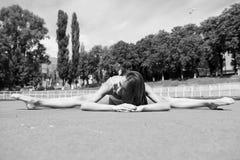 Sport e yoga Immagine Stock