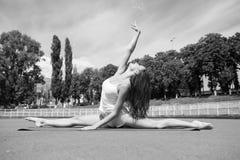 Sport e yoga Fotografia Stock