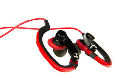 Sport earphone Royalty Free Stock Photo