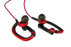 Sport earphone Stock Image