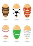 Sport easter royaltyfri illustrationer