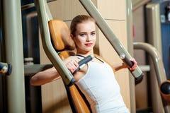 Sport, Eignung, Lebensstil und Leutekonzept - Lizenzfreie Stockfotografie