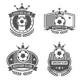 Sport emblems. Vector set sport emblems. Logo badges and labels  Football icon Royalty Free Stock Photos