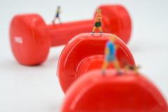 Sport en fitness concept Stock Afbeeldingen