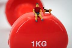 Sport en fitness concept Stock Foto's