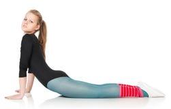 Sport en gezondheidszorg. De vrouw van de het verliesgeschiktheid van het gewicht. Royalty-vrije Stock Foto's