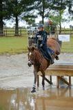 Sport equestre - concorso completo Fotografia Stock