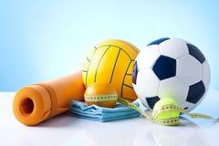 Sport equipment Stock Images
