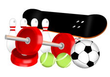 Sport equipment Royalty Free Stock Images