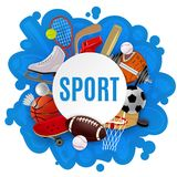 Sport Equipment Concept Stock Images