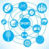 Sport equipment Stock Images