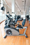 Sport equipment. In the gym Royalty Free Stock Photo