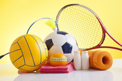 Sport equipment Royalty Free Stock Image