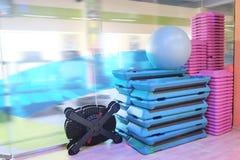 Sport equipment. The image of sport equipment Stock Photo