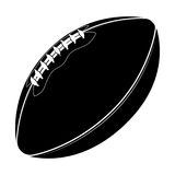 Sport equipment. Rugby ball. American football ball isolated on a white background. Sport game Stock Photo