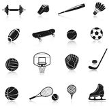 Sport Equipment Set Stock Photos