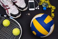 Sport equipment. Stock Photo