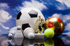 Sport equipment Stock Photography