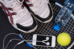 Sport equipment. Royalty Free Stock Images