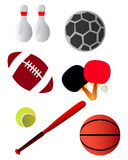 Sport equipment & tools Royalty Free Stock Photo
