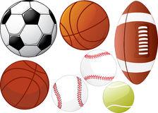 Sport equipments Stock Images
