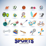 Sport equipments -  Royalty Free Stock Images
