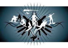 Sport estremi Fotografie Stock Libere da Diritti