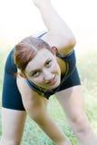 Sport et femme photos stock