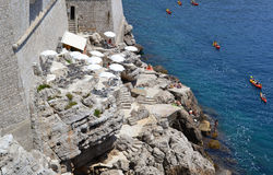Sport et histoire (Dubrovnik, Croatie) Image libre de droits