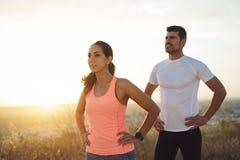Sport et motivation courante photo stock