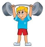 Sport et thème 7 de gymnase Images stock
