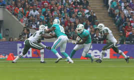 Sport ew York Jets International Series game versus the Miami Dolphins Stock Images