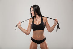Sport, Exercise And Healthcare - Sporty Woman With Stock Images