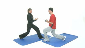 Sport exercise Stock Image